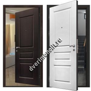 Металлическая дверь внутреннего открывания, модель 007-011