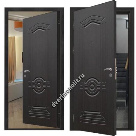 Металлическая дверь внутреннего открывания, модель 007-012