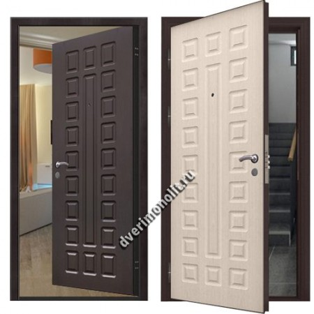 Металлическая дверь внутреннего открывания, модель 007-014