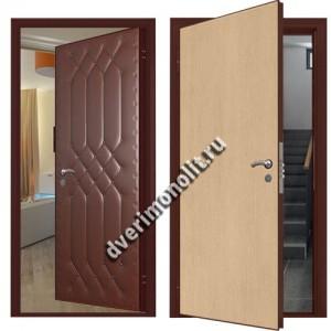 Входная металлическая внутренняя дверь в квартиру 590-11