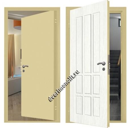 Входная металлическая внутренняя дверь в квартиру 590-13