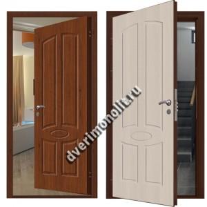 Входная металлическая внутренняя дверь в квартиру 590-19