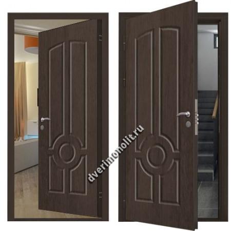 Входная металлическая внутренняя дверь в квартиру 590-23