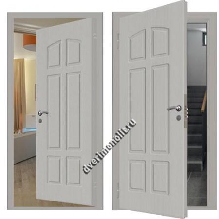 Входная металлическая внутренняя дверь в квартиру 590-25