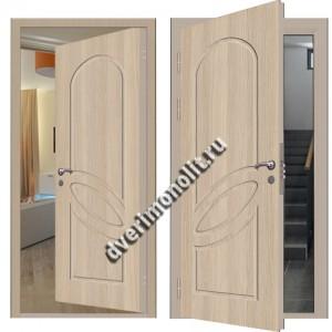 Входная металлическая внутренняя дверь в квартиру 590-26