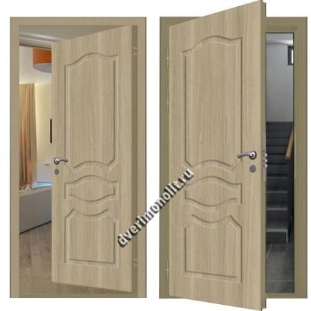 Входная металлическая внутренняя дверь в квартиру 590-27