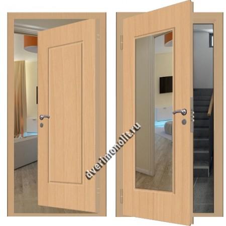 Входная металлическая внутренняя дверь в квартиру 590-28