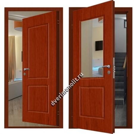 Входная металлическая внутренняя дверь в квартиру 590-29