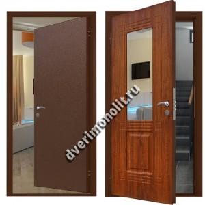 Входная металлическая дверь внутреннего открывания. Модель 70-95