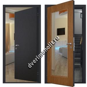 Входная металлическая дверь внутреннего открывания. Модель 70-99