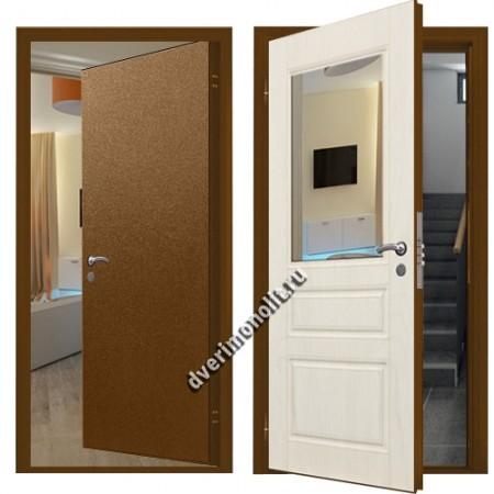 Входная металлическая дверь внутреннего открывания. Модель 71-03