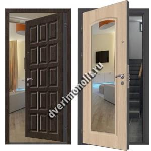 Входная металлическая дверь внутреннего открывания. Модель 71-07