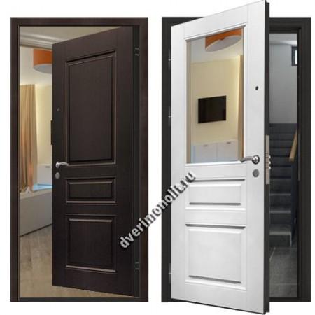 Входная металлическая дверь внутреннего открывания. Модель 71-15