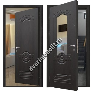 Входная металлическая дверь внутреннего открывания. Модель 71-18
