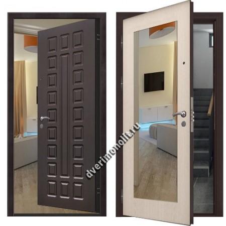Входная металлическая дверь внутреннего открывания. Модель 71-24