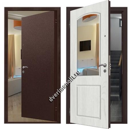 Входная металлическая дверь внутреннего открывания. Модель 71-28
