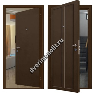Металлическая дверь внутреннего открывания - 80-30