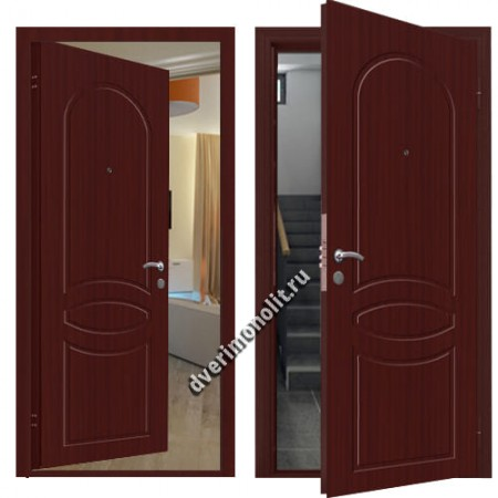 Металлическая дверь внутреннего открывания - 80-33