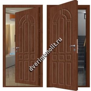 Металлическая дверь внутреннего открывания - 80-34