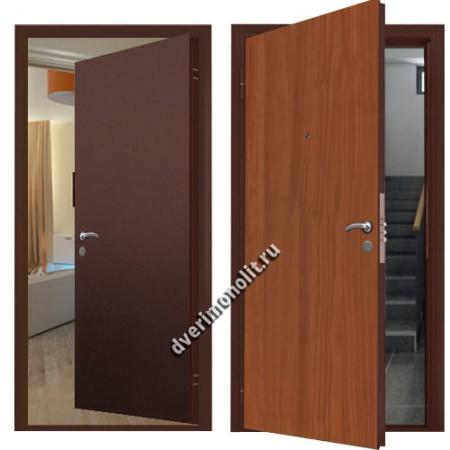 Металлическая дверь внутреннего открывания - 80-35