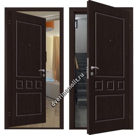 Металлическая дверь внутреннего открывания - 80-37