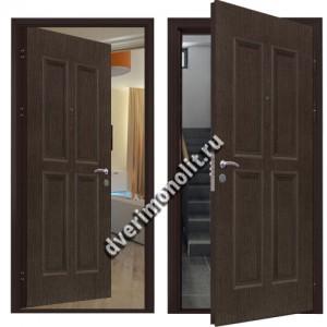 Металлическая дверь внутреннего открывания - 80-39