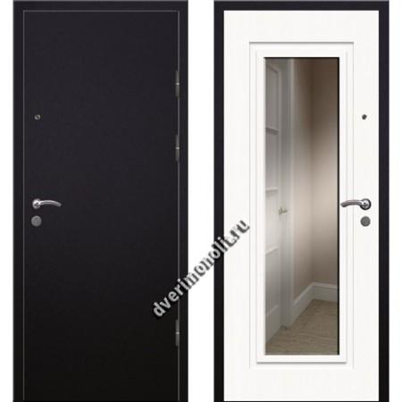 Входная премиальная дверь с зеркалом, модель 70-90