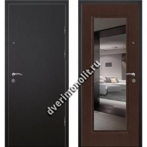 Входная премиальная дверь с зеркалом, модель 70-93