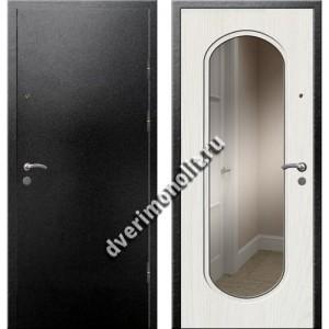 Входная премиальная дверь с зеркалом, модель 71-01