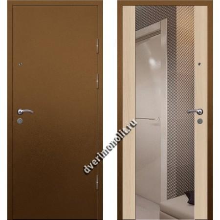 Входная премиальная дверь с зеркалом, модель 71-05