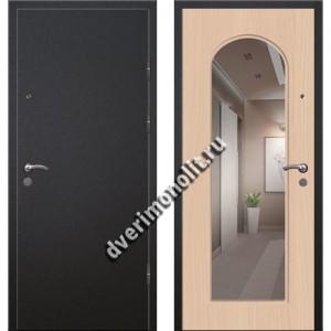 Входная премиальная дверь с зеркалом, модель 71-09