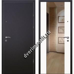 Входная премиальная дверь с зеркалом, модель 71-13