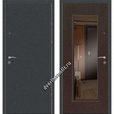 Входная премиальная дверь с зеркалом, модель 71-17