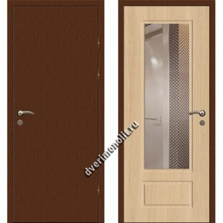 Входная премиальная дверь с зеркалом, модель 80-43