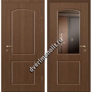 Входная премиальная дверь с зеркалом, модель 80-45