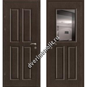 Входная премиальная дверь с зеркалом, модель 80-46