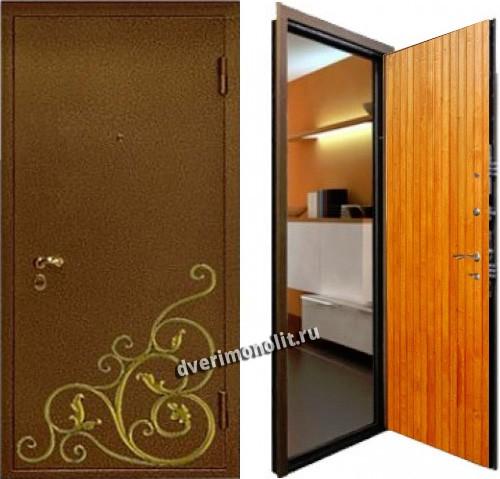 металлическая дверь за 10000