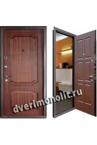 Входная металлическая дверь в частный дом. Модель 577-06