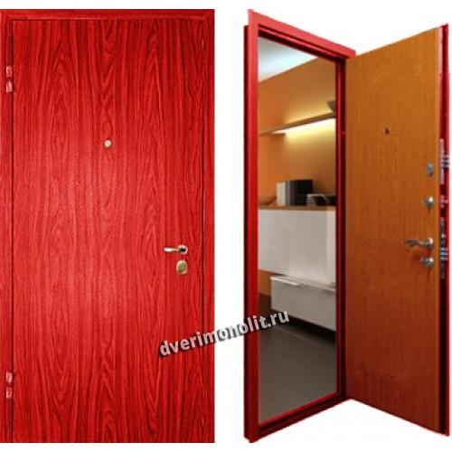 облегченную металлическую входную дверь