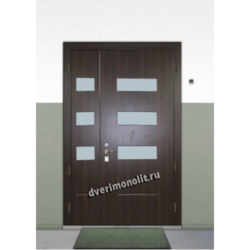 поставить входную дверь двойную в москве бибирево